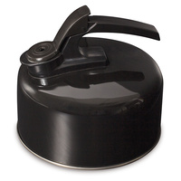 2L Stainless Steel Whistling Kettle - Black